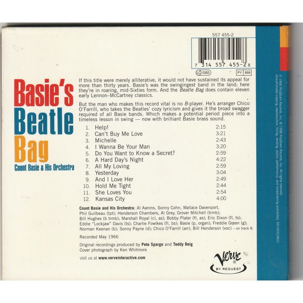 Count Basie & His Orchestra Basie's Beatle Bag