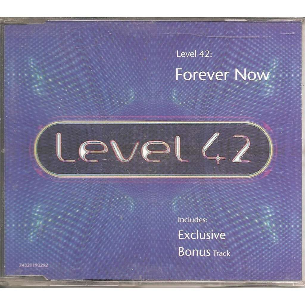 Level 42 Forever now / All over you / Romance / Play me