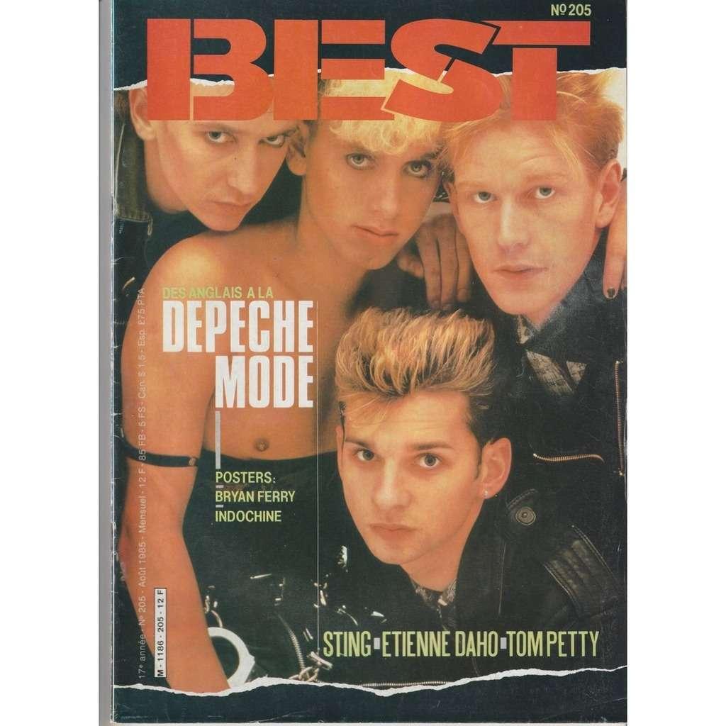 Best magazine N°205-août 1985
