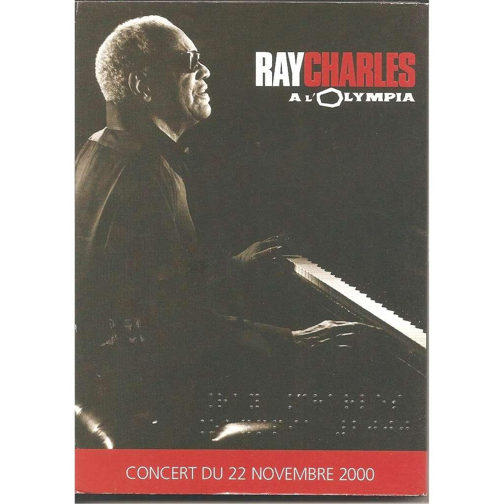 ray charles a l'olympia concert du 22 novembre 2000