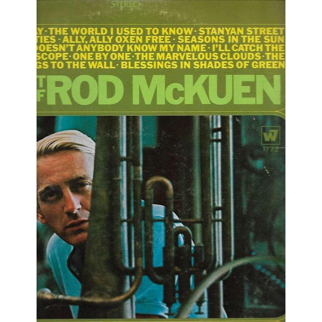 rod mckuen / josh white Greatest Hits Of Rod McKuen