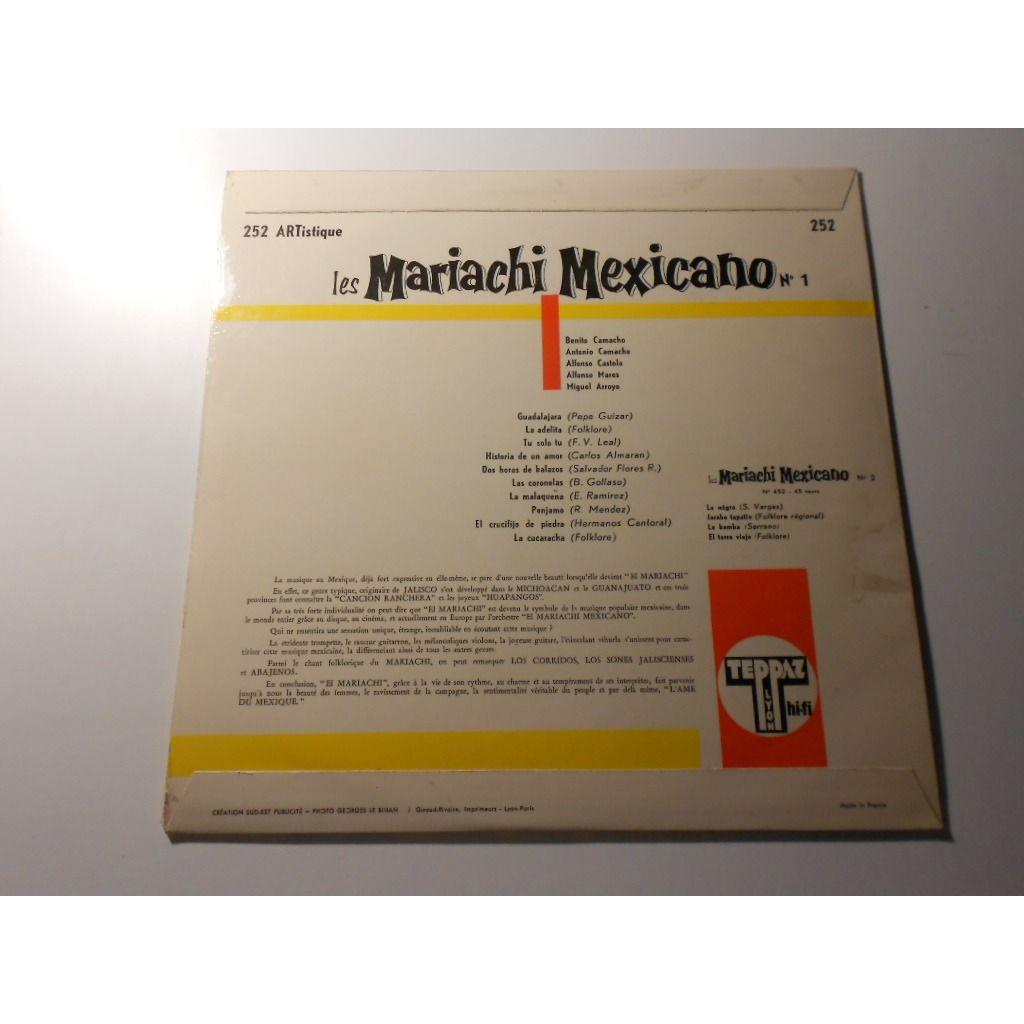 les mariachi mexicano varietes n°1