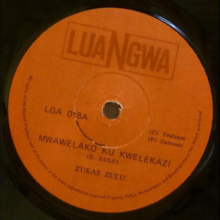 ZUKAS ZULU Mwawelako ku kwelekazi / Maloza