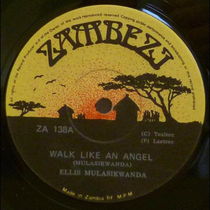 ELLIS MULASIKWANDA Walk like an angel / Kuomboka