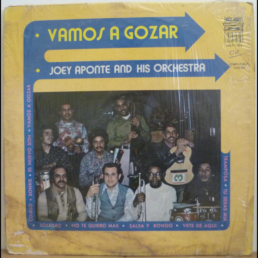 JOEY APONTE & his Orchestra Vamos a gozar