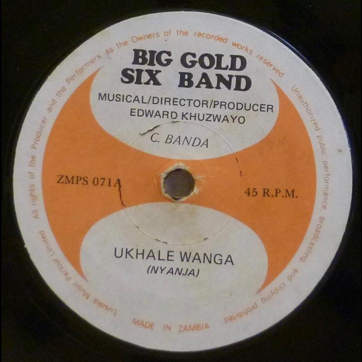 BIG GOLD SIX BAND Ukhale wanga / Kaizutule