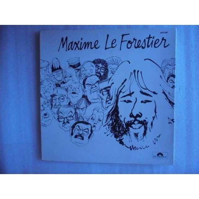 LE FORESTIER MAXIME SALTIMBANQUE + 9 - POCHETTE OUVRANTE - 1975
