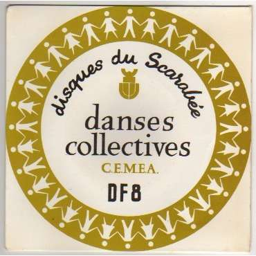 DISQUES DU SCARABEE DANSES COLLECTIVES