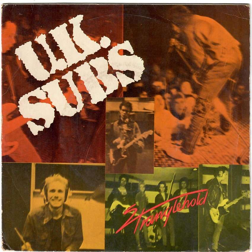 UK Subs Stranglehold / World War / Rockers