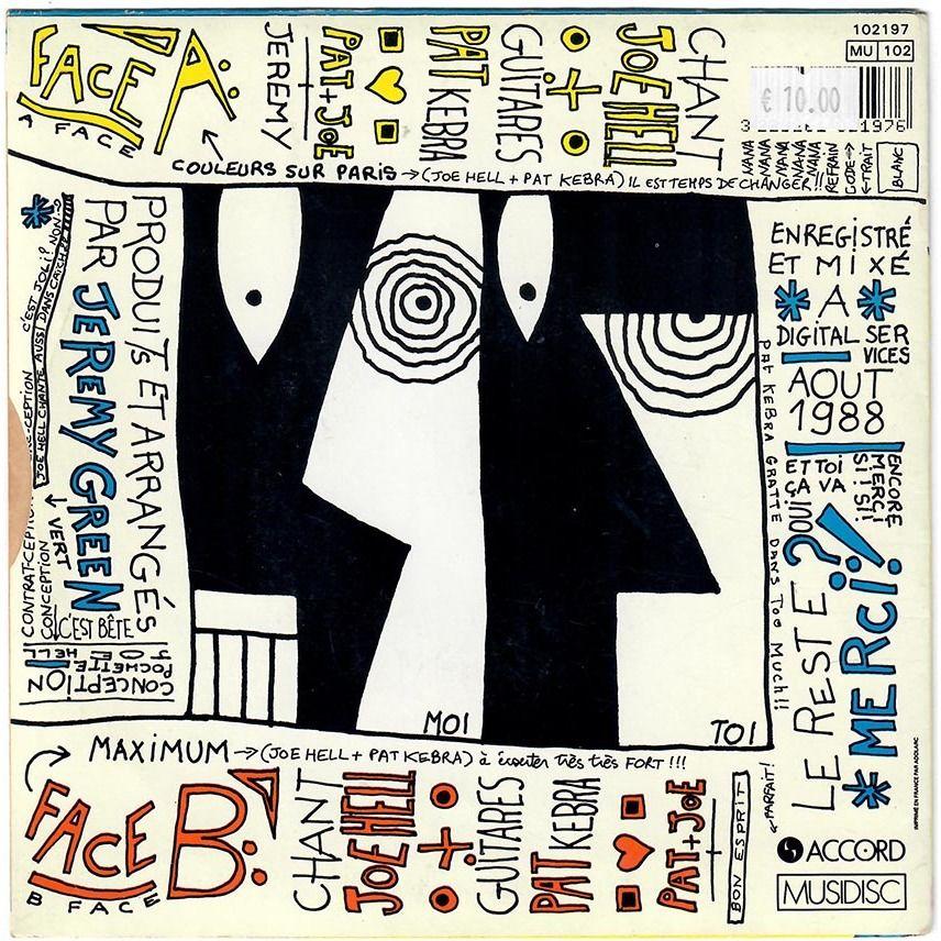 Oberkampf Couleurs Sur Paris / Maximum (versions 1988)