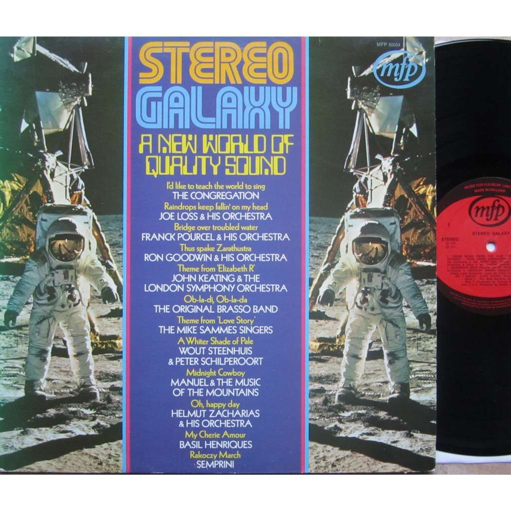 divers artistes - various artist stereo galaxy - a new world of quality sound