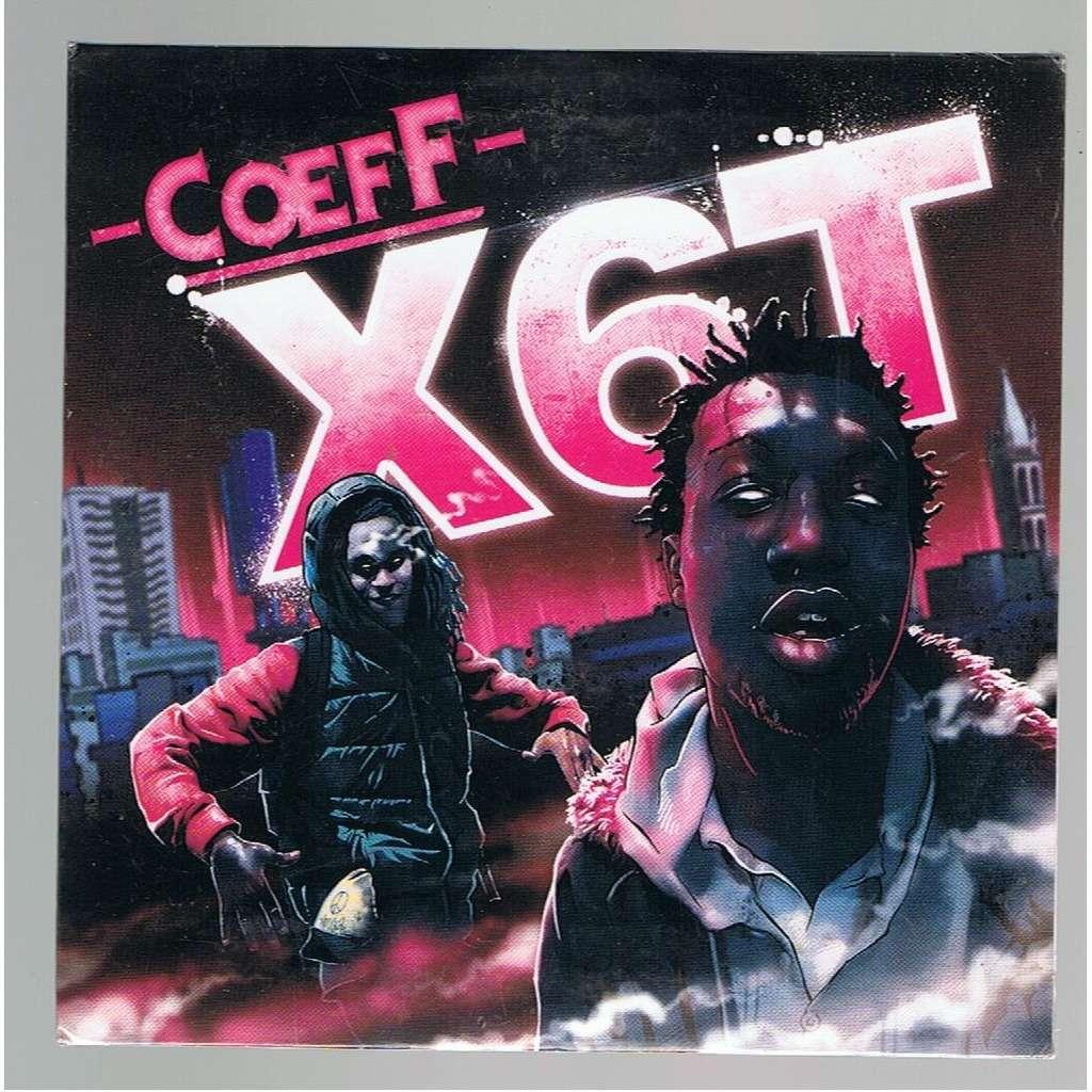 COEFF X6T -cardboard sleeve promo copy-