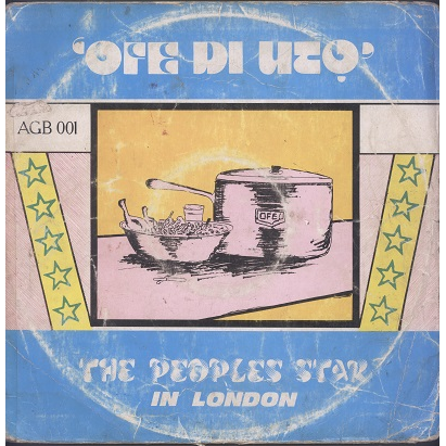 Chief Osadebe, The Peoples Star In London Ofe Di Uto