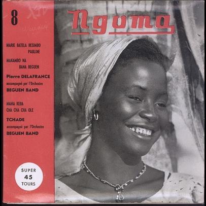 Beguen Band, Pierre Delafrance, Tchade Super 45 Tours No.8