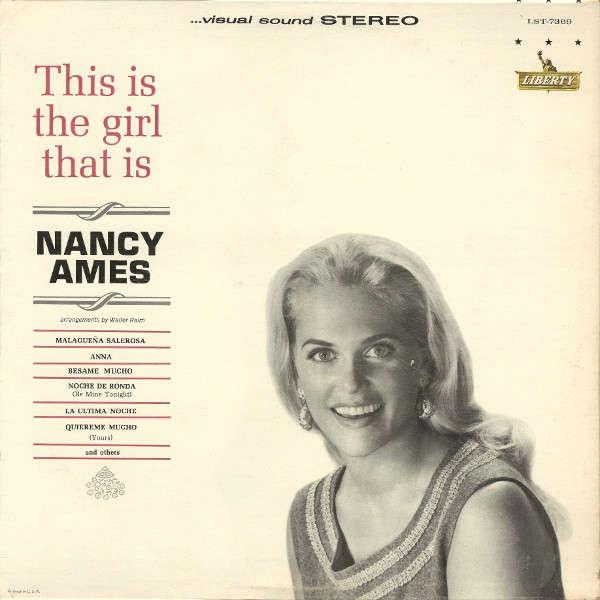 Nancy Ames Trio Los Chicos Walter Raim This Is The Girl That Is Nancy Ames