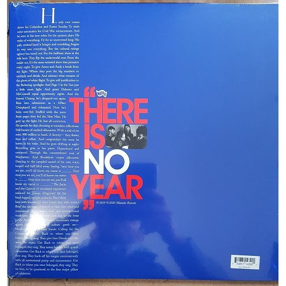 algiers There Is No Year (Cloudy Clear, Flexi-disc Blue)