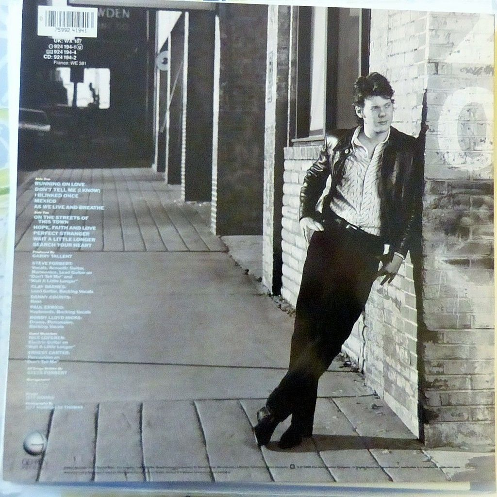 STEVE FORBERT STREETS OF THIS TOWN