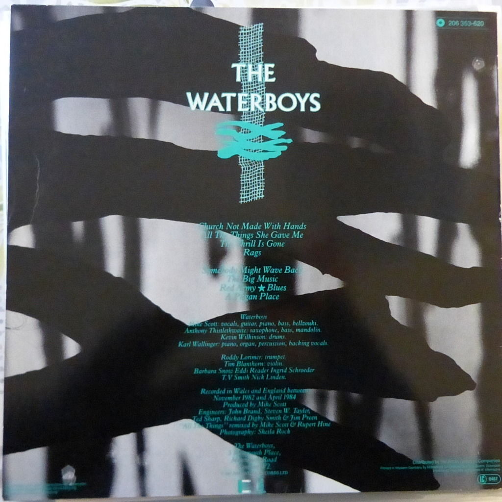 THE WATERBOYS A PAGAN PLACE