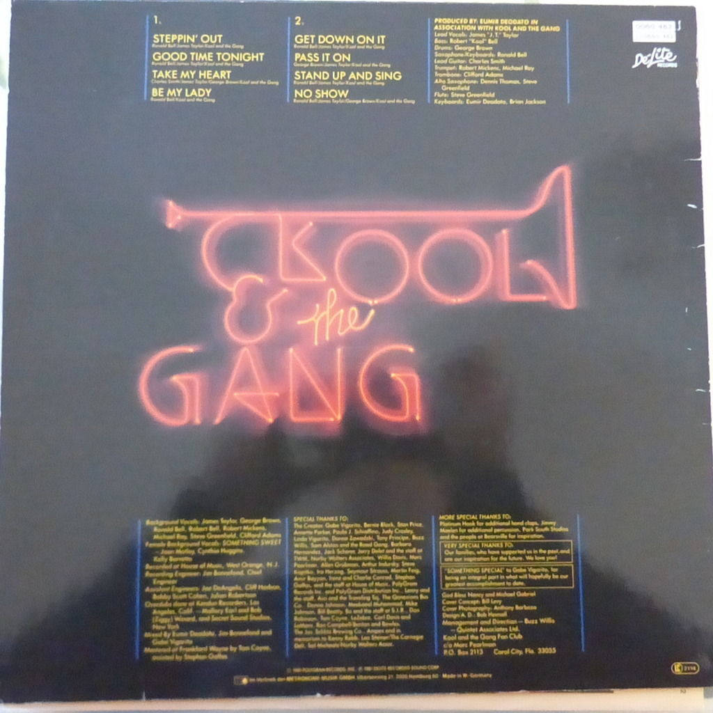 KOOL AND THE GANG SOMETHING SPECIAL