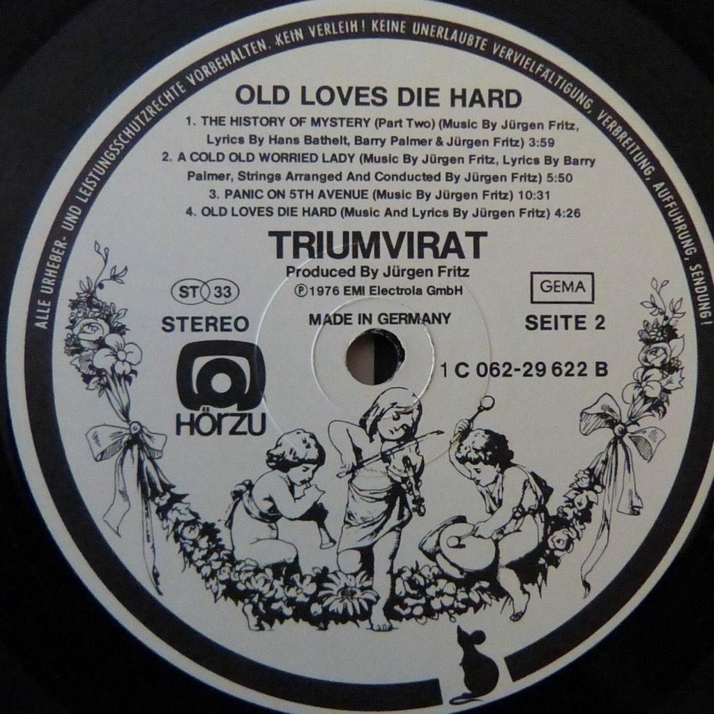 TRIUMVIRAT old loves die hard