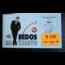 GUY BEDOS - Guy Bedos Au Zénith : Programme : 1989 & Ticket d'entrée (18/11/89 - R 230) - 500 gr