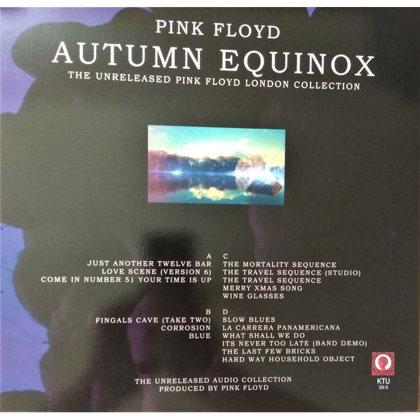 Pink Floyd Autumn Equinox - The Unreleased Pink Floyd London Collection