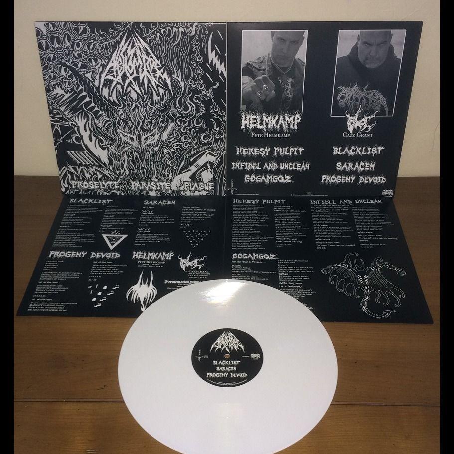 ABHOMINE Proselyte Parasite Plague. White Vinyl