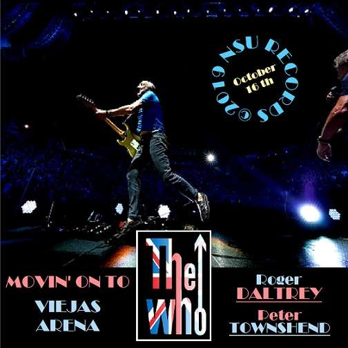 The Who Live in SAN DIEGO, CALIFORNIA 2019 OCTOBER 16th LTD 2 CD