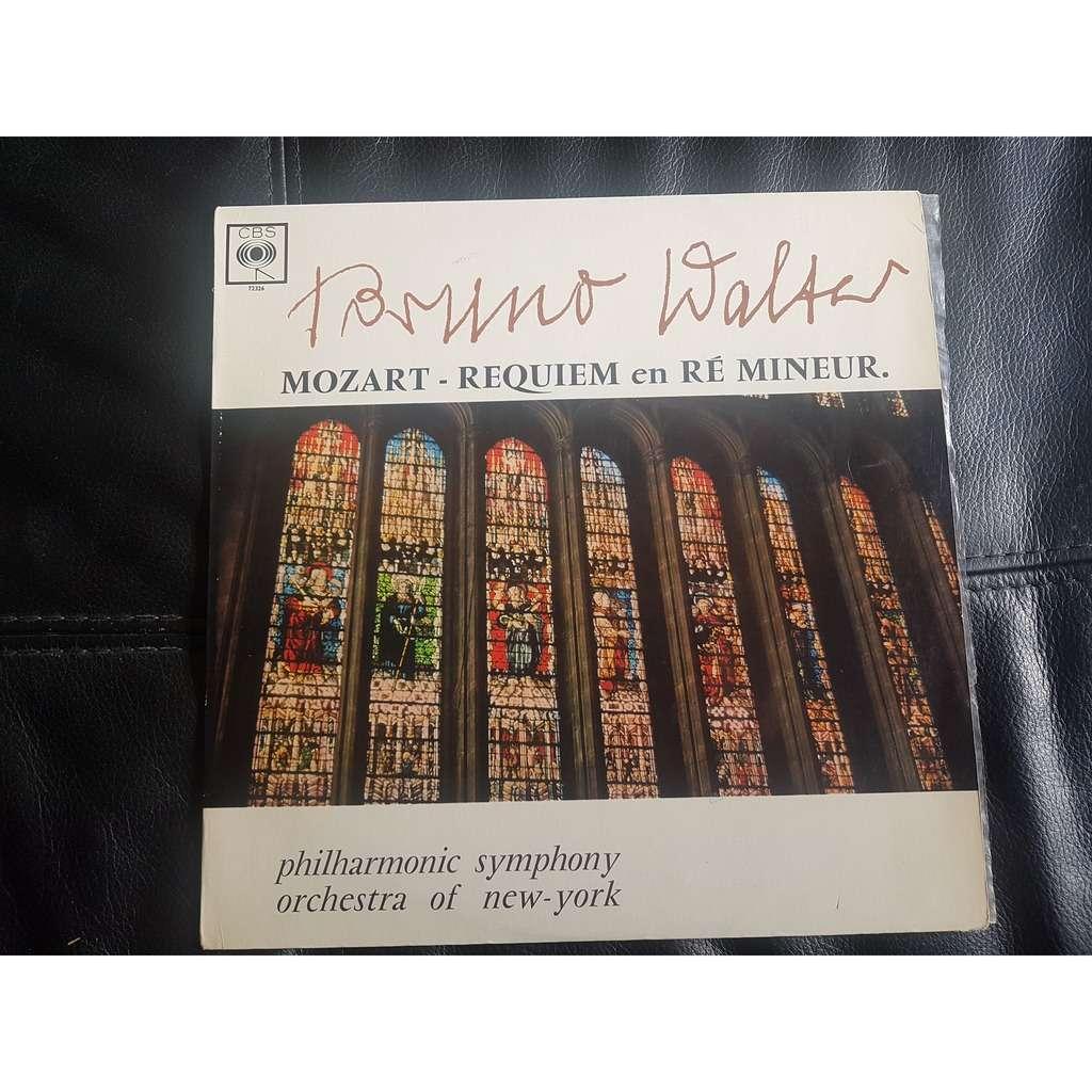mozart / bruno walter requiem messe en ré mineur, K 626