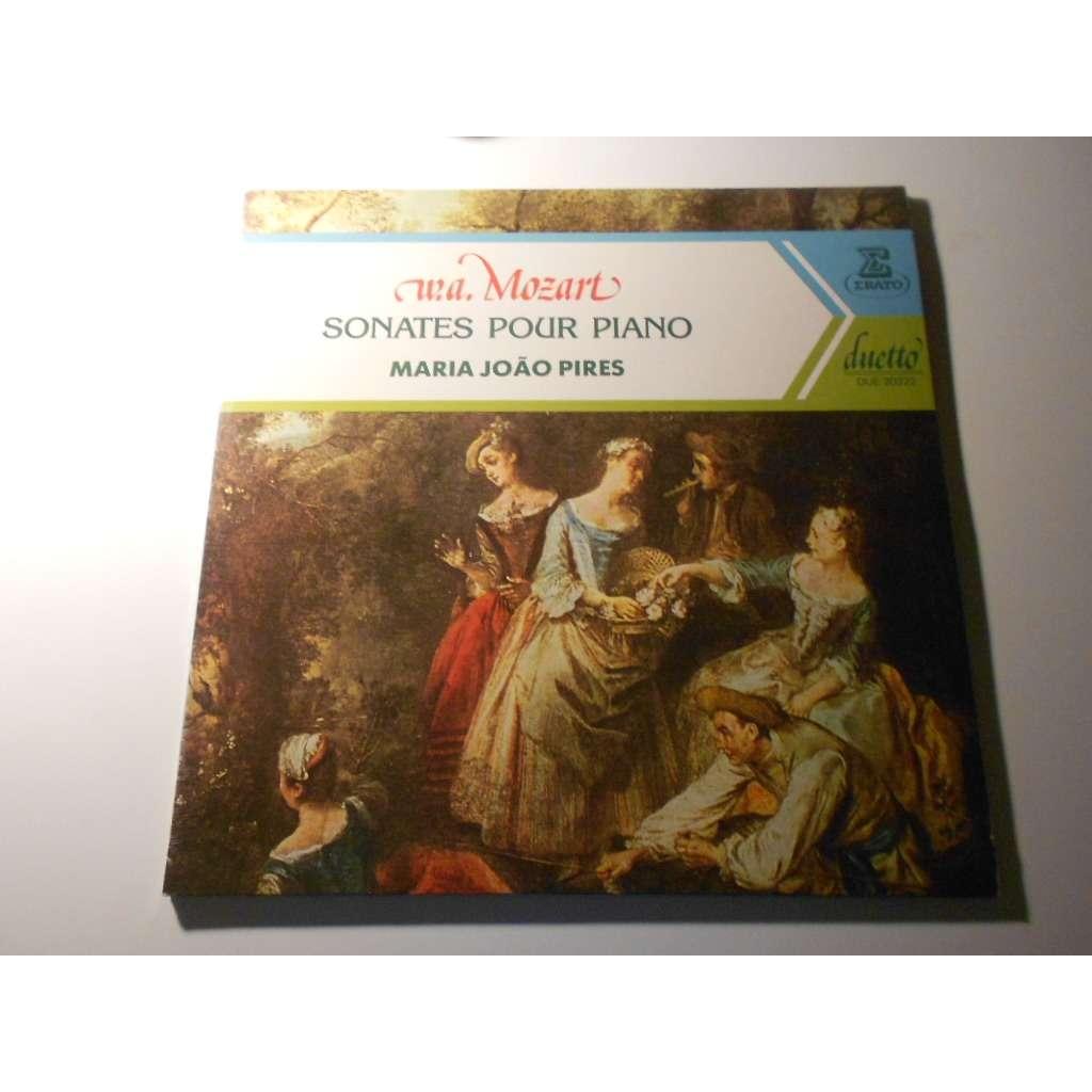 maria joao pires wa mozart sonates pour piano