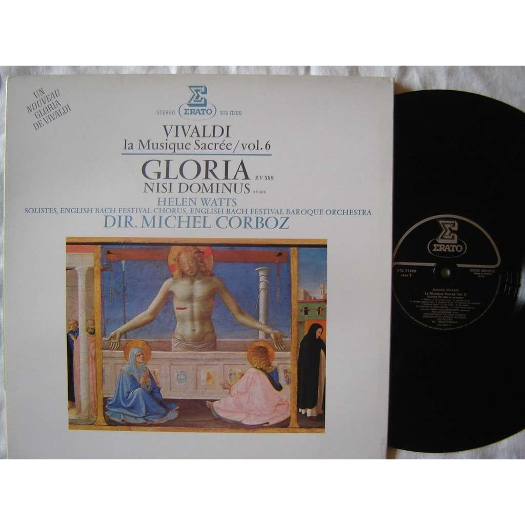 M. Corboz - Helen Watts , Bach Festival chorus Vivaldi : musique sacrée vol. 6 - Gloria , Nisi dominus