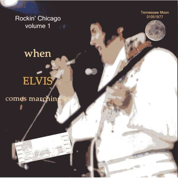 elvis presley 001 cd rockin' chicago vol.1 cd 1/5/77 evening show