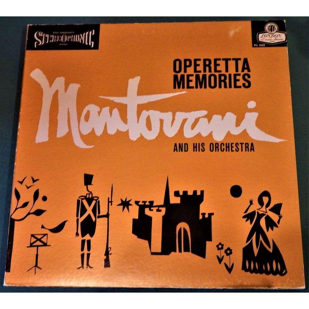 Mantovani and His Orchestra 'Operetta Memories'