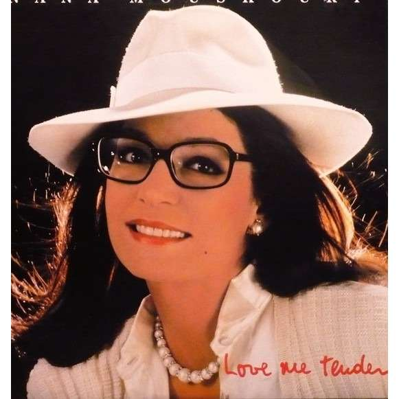 Nana Mouskouri love me tender (pressage canadien )