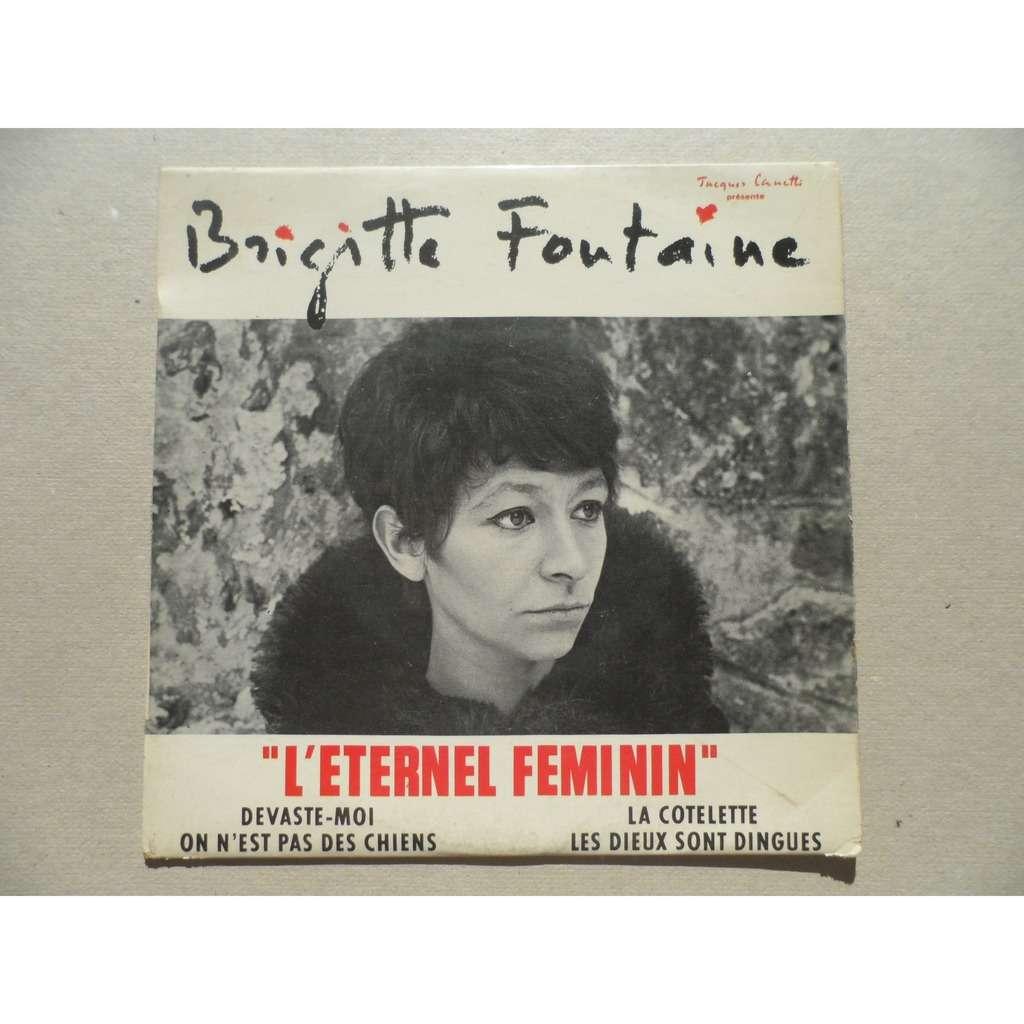 brigitte fontaine l'eternel feminin