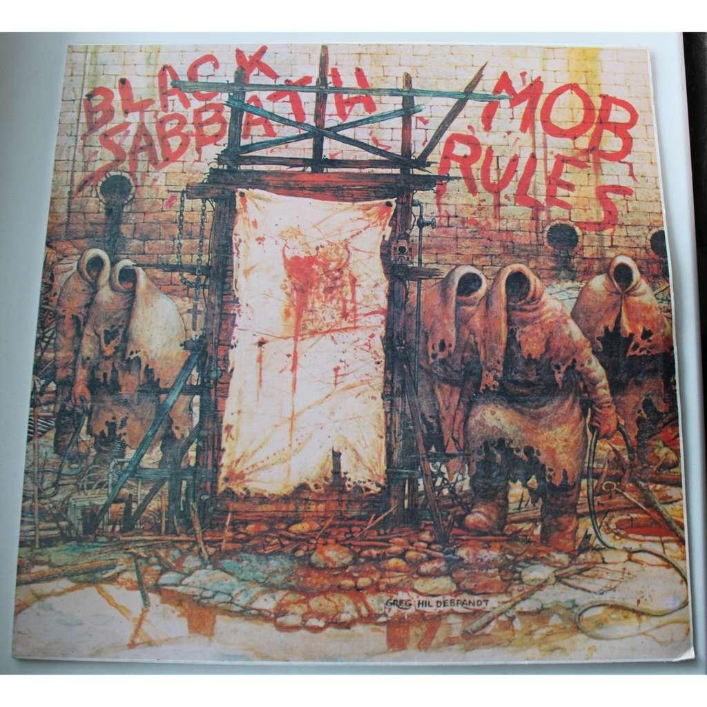 Black Sabbath Mob Rules
