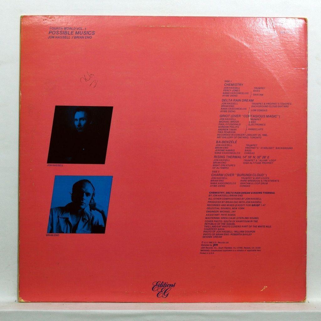 Jon Hassell / Brian Eno Fourth world vol.1 - Possible musics
