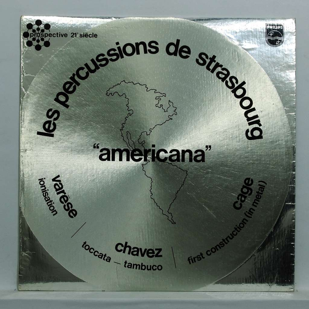 les percussions de strasbourg Americana - Edgar Varese : Ionisation / Carlos Chavez : Tambuco / Toccata
