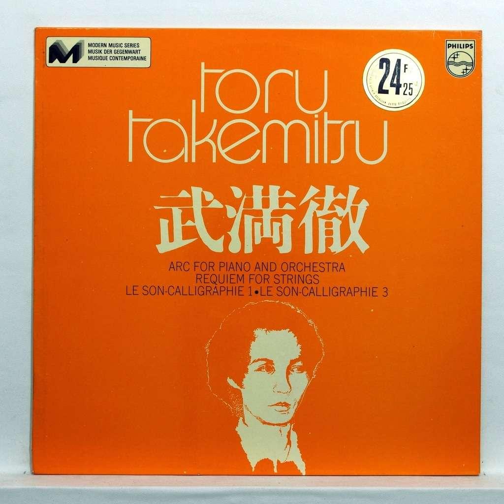 H. Wakasugi Toru Takemitsu : Arc for piano and orchestra / Requiem for strings