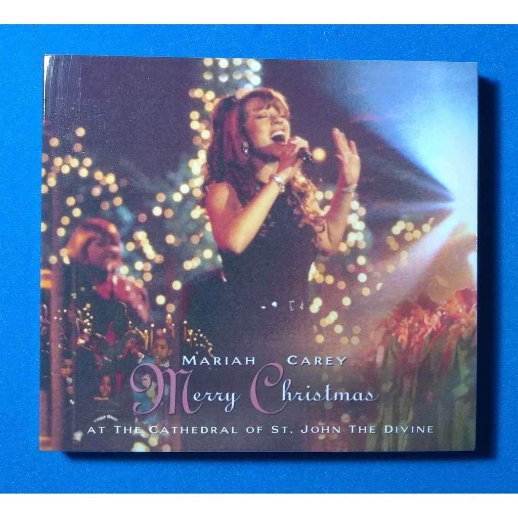 mariah carey Merry Christmas - Cathedral St. John DVD + CD ( digipak case) (Brazil release 2020, very rare )