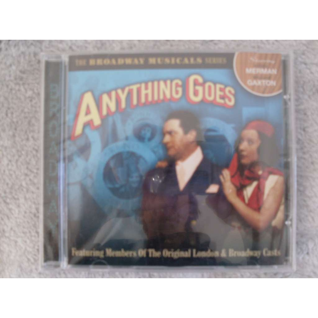 Anything Goes The Broadway Musicals Series