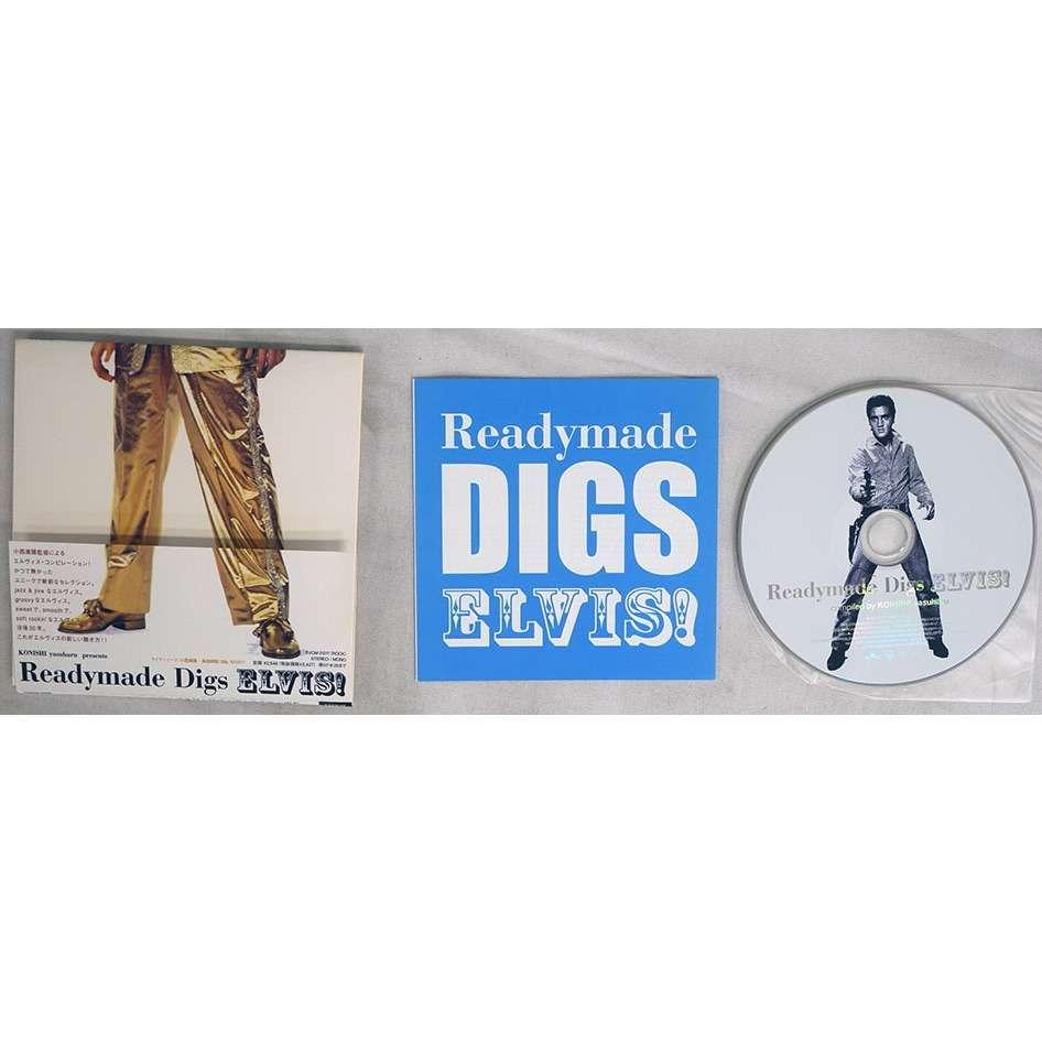 ELVIS PRESLEY Readymade Digs Elvis! JAPAN OBI RCA BVCM-31211 NEW