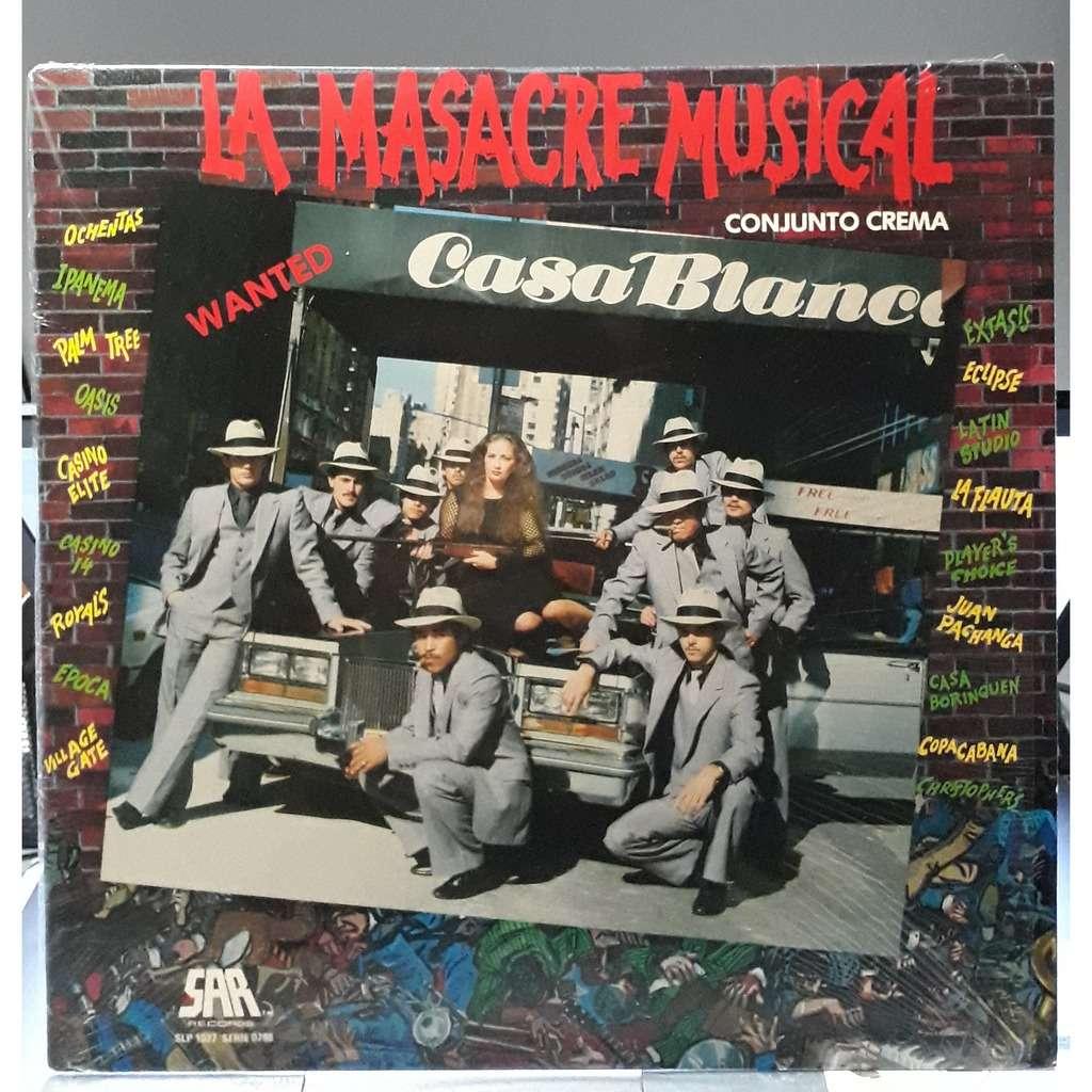 Conjunto Crema La Masacre Musical