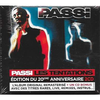Passi Les Tentations (édition collector 1997-2017)