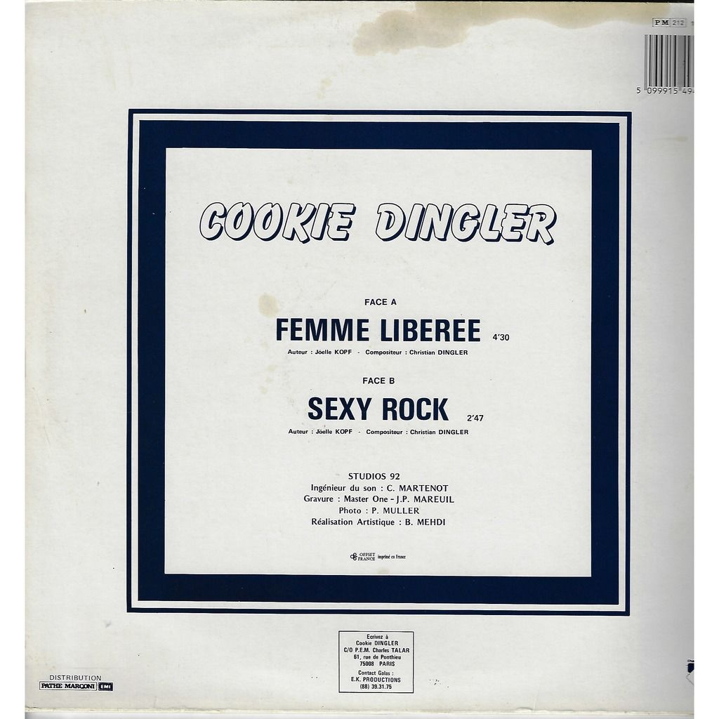 cookie dingler femme liberee / Sexy rock