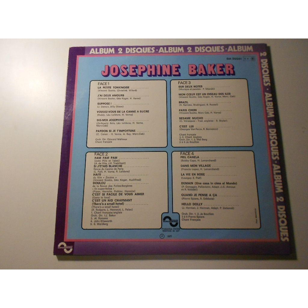 josephine baker album 2 disques