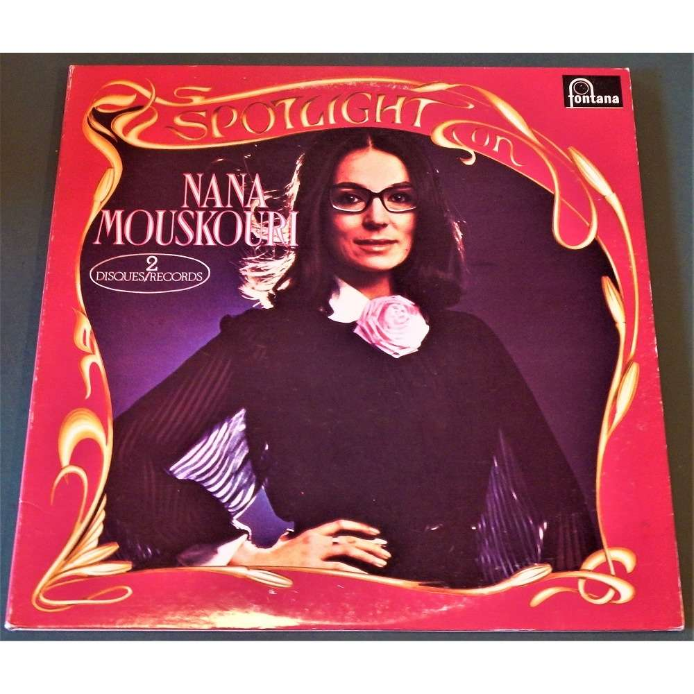 Nana Mouskouri Spotlight On Nana Mouskouri