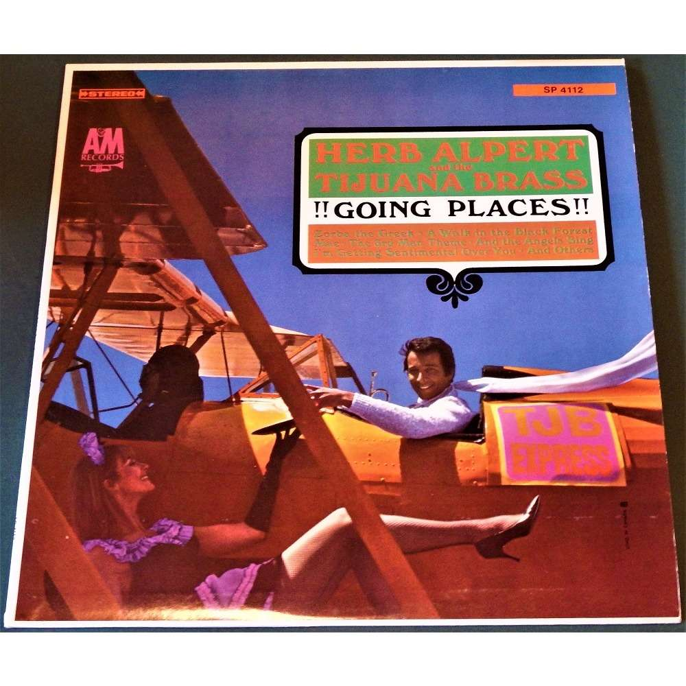 Herb Alpert & The Tijuana Brass 'Going Places'