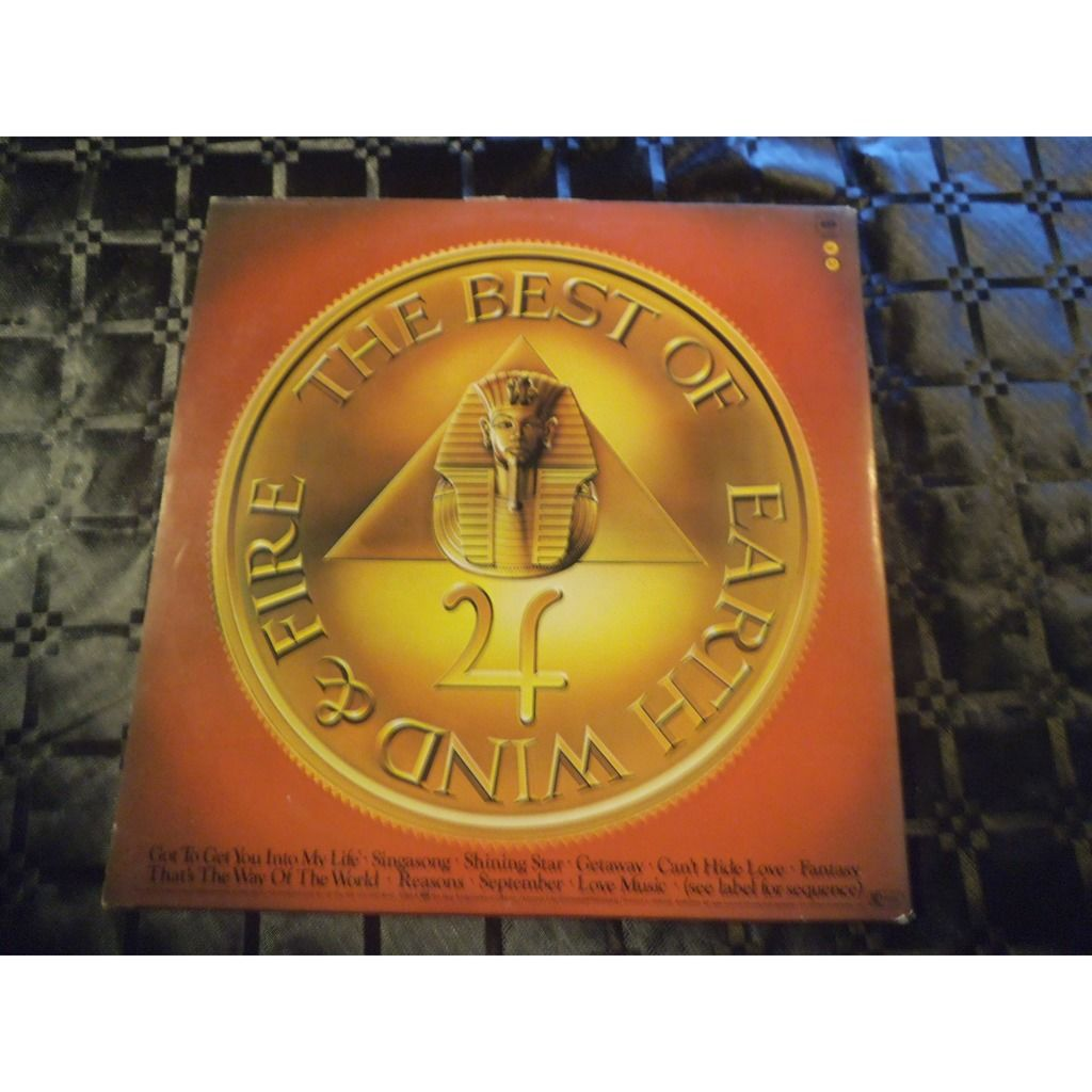 earth wind & fire THE BEST OF VOL 1