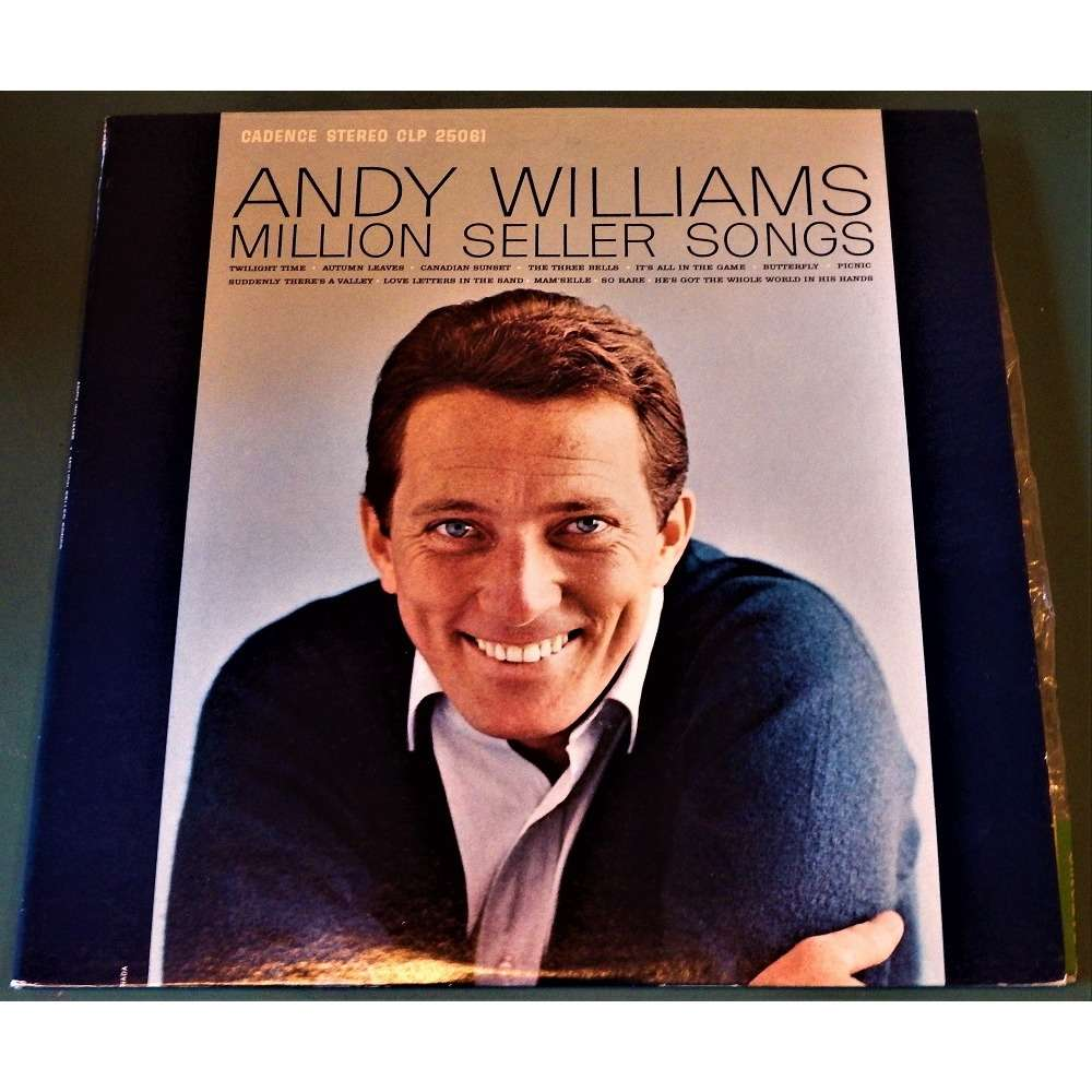 Andy Williams 'Million Seller Songs'